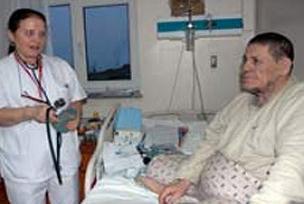 Kozan, 41 yıldır hastanede yaşıyor.11575