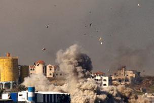 Gazze'de maddi hasar 1.4 milyar dolar.9263