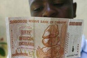 100 trilyonluk banknot piyasada.11252
