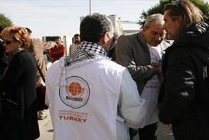 MAZLUMDER İstanbul şubesi Gazze'de.12230