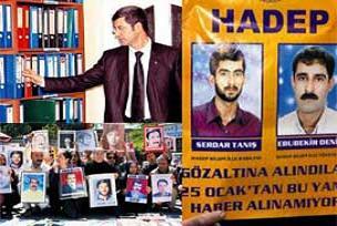 Diyarbakır'daki faili meçhul rafları.21076