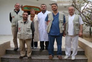 İHH yardım ekipleri GAZZE'ye ulaştı.13335