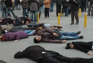 Hrant Dink için ilginç anma töreni.13922