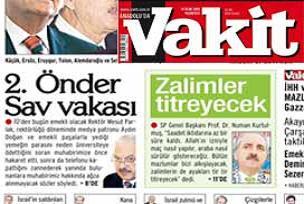 Vakit'ten ikinci Önder Sav iddiası.19663