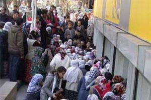 200 YTL yardım Diyarbakır'ı karıştırdı.16870