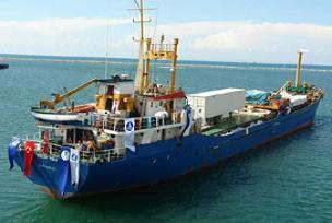 Deniz Feneri gemisinin rotası Filistin.12676