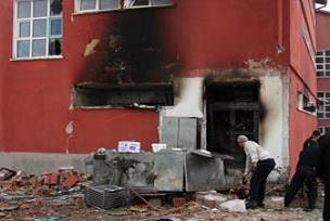 Polis okulunda tüp patladı: 7 yaralı.13161