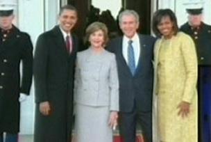 Beyaz Saray'da tarihi an.9960