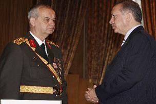 Erdoğan ile Başbuğ'un rutin buluşması.10749