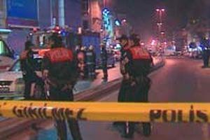 İzmir Bornova'da ses bombası patladı.12023