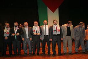 Başakşehir'de Filistin'e destek gecesi.10724