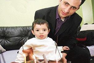 Mucize bebek Sadi Rıza 1 yaşında.12862