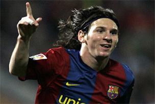 Messi: Barça'yı asla terketmem.11075