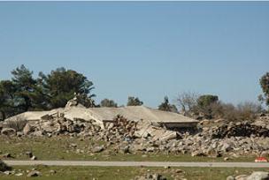İsrail'in yıktığı Kuneytra'ya geri dönüş.11857