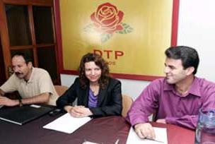DTP 17 yerde kadınları aday gösterdi.15102