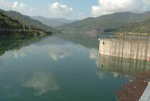 Yuvacık Barajı'nda su seviyesi.7953