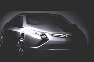 Opel'den elektrikli Ampera.5797