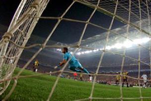 F.Bahçe 2009'da kalesini gole kapadı.14238