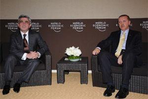 Erdoğan'ın Davos'ta Ermeni görüşmesi.11253