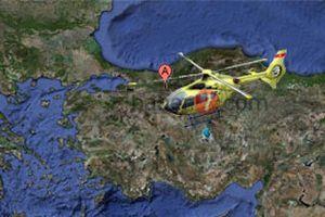 Dün kaybolan helikopter hala aranıyor.16141