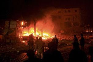 İsrail'e roket ve havan saldırısı 3 yaralı.8456