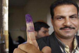 Irak'taki seçimde ilk sonuçlar.8851