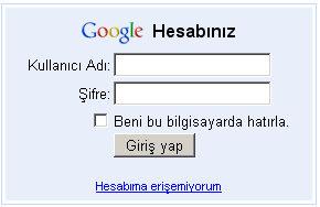 Google'nin mail servisi Gmail çalışmıyor.12349