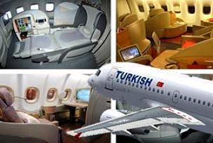 74 yolcu 'first class' uçtu.15920
