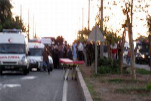 Bursa ve Gaziantep'te trafik kazası.12589