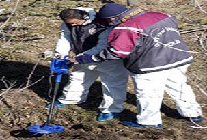 Cizre'de 3 kemik daha bulundu.41544