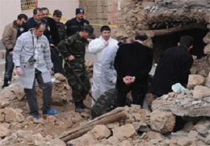 Diyarbakır'da kemik parçaları bulundu.14893