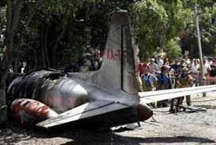 Uçak Amazon'a çakıldı.15482