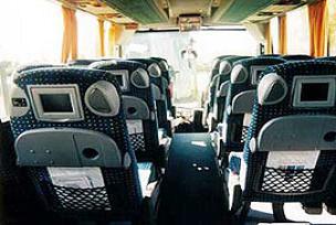 Turist otobüsünde yangın.16821