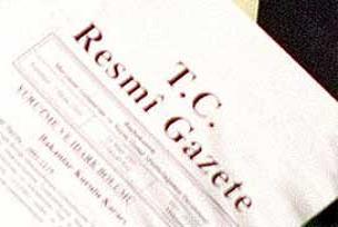 Atama kararları resmi gazetede.9413