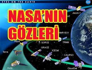 NASA uyduları küresel ısınmayı izliyor.20085
