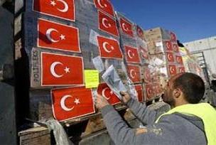 Türk Kızılayın'dan Gazze'ye yardım.15568