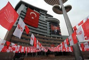 CHP Genel Merkezi önünde protesto.15704