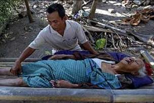 Endonezya'da deprem: 17 yaralı.17318