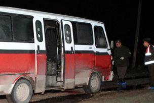 Minibüs şoförlerinin katili yakalandı.11585