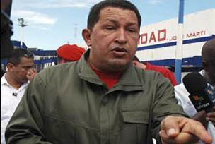 Chavez'e diktatör dedi, kovuldu!.12756