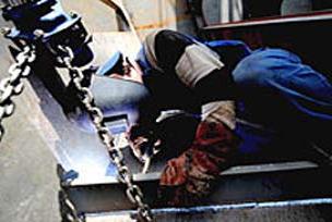 Tuzla Tersanesinde iş kazası ölüm getirdi.14464