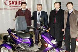 Türkiye'nin ilk hibrit mobil aracı üretildi.16286