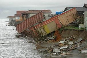 Sakarya'da fırtına 6 evi yıktı.14361