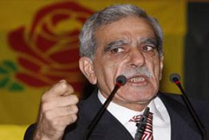 DTP lideri Türk Miliband ile görüştü.10100