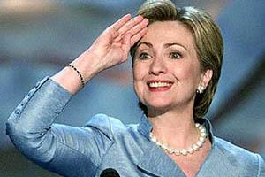 İsrail'den Clinton'a sıcak karşılama.37719