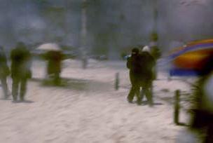 Beyoğlu kar yağınca bir başka oluyor!.7341