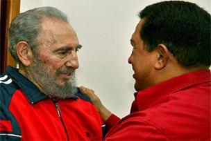 Chavez: Cabtro Havana'da yürüdü.11417