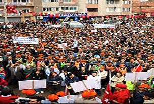 Kocaeli Belediyesine sendika tepkisi.26946