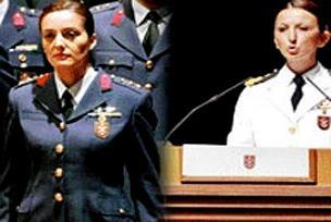 Türkiye'nin ilk kadın Genelkurmay Başkanları.13458