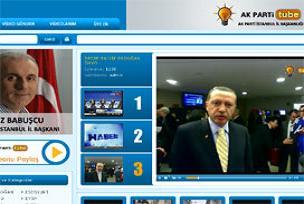 Bu da AK Parti'nin Youtube'u!.16570